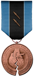 Punctured Heart Medal